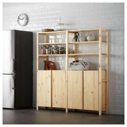 IVAR 2 secciones/estantes/armario