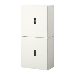 STUVA Combinación almacenaje+puertas