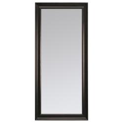 HEMNES Espejo 75x165 negro-marrón