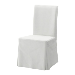 HENRIKSDAL Funda larga para silla blekinge blanco