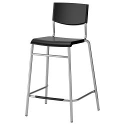 STIG Taburete de bar alto asiento 24