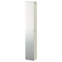 1 x LILLÅNGEN Armario alto con espejo 30X21X179