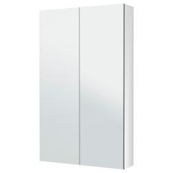 GODMORGON Clóset de espejo con 2 puertas