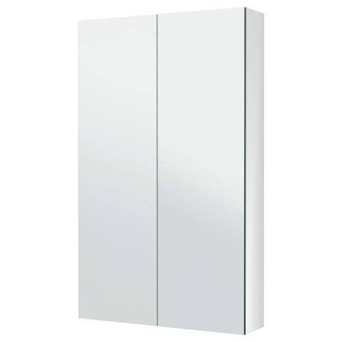 Godmorgon armario de espejo con 2 puertas for Espejo godmorgon