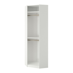 1 x PAX Estructura módulo esquina, blanco