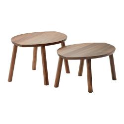 STOCKHOLM Juego de mesas, 2 piezas