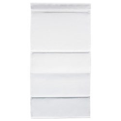 RINGBLOMMA Estor 140X160 cm Blanco