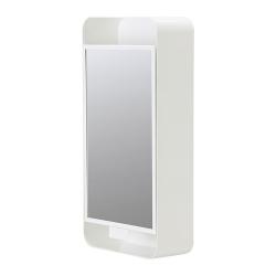 GUNNERN Armario con espejo, 1 puerta