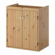 SILVERÅN Armario lavabo con 2 puertas 60x38x67cm