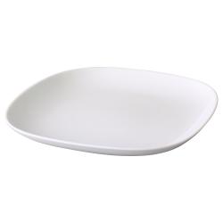 VÄRDERA Plato de porcelana, 9 ¾