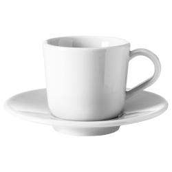IKEA 365+ Taza/plato espresso, 6cl