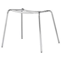 1 x BRORINGE Soporte cromado para silla