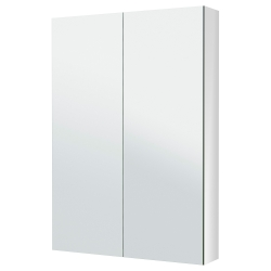 GODMORGON Mirror cabinet with 2 doors