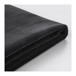 1 x FÄRLÖV Funda para sofá de 3 plazas Djuparp gris oscuro