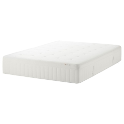 HESSTUN Mattress resortes/memory Queen firmeza media