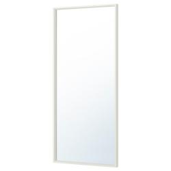 NISSEDAL Espejo blanco 65x150cm