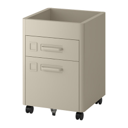 IDÅSEN Drawer unit on castors