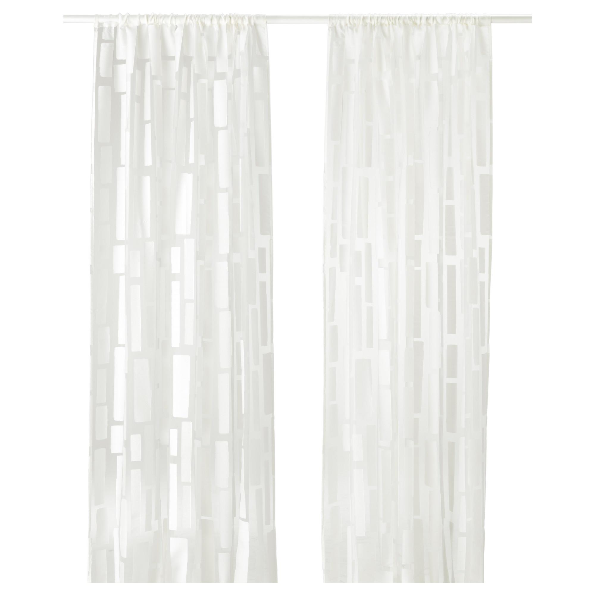 Strandr g cortinas transparentes 1 par for Cortinas transparentes