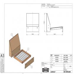 1 x LIDHULT Estructura módulo 1