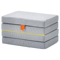 SLÄKT Puf/colchón plegable