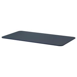 1 x BEKANT Tablero para escritorio 160x80 cm azul