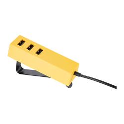 LÖRBY Cargador USB con pinza