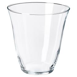 FRAMTRÄDA Vaso de vidrio liso, 28cl