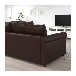 1 x GRÖNLID 2 módulos sofá cama