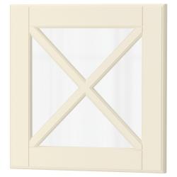 BODBYN Puerta vidrio con viga en X
