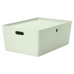 KUGGIS Storage box with lid