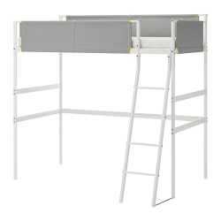 1 x VITVAL Estructura cama alta