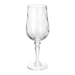 KONUNGSLIG Copa de vino, vidrio con relieve, 40cl