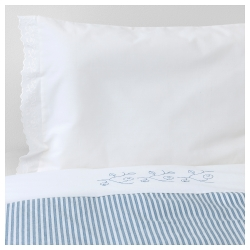 GULSPARV Quilt cover/pillowcase for cot