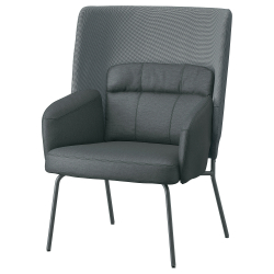 BINGSTA High-back armchair