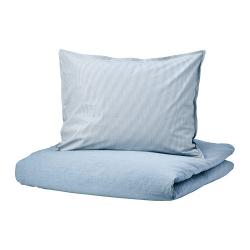 BLÅVINDA Funda nórd y funda para almohada