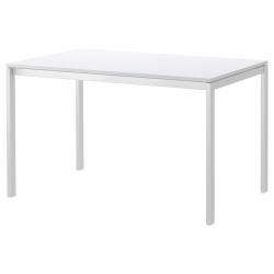 MELLTORP Mesa 125x75cm blanco