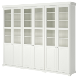LIATORP Combinación almacenaje+puertas