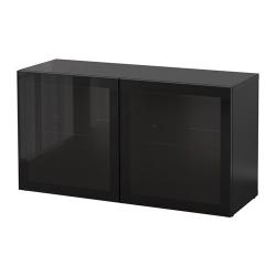 BESTÅ Estantería con puertas de vidrio