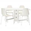 NORDEN Mesa con 4 sillas
