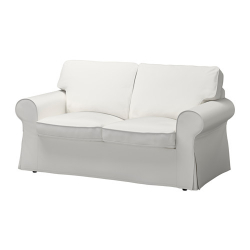 EKTORP Two-seat sofa, VITTARYD white