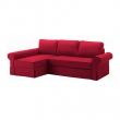 BACKABRO Sofá cama con chaiselongue