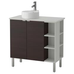 LILLÅNGEN/VISKAN/GUTVIKEN Arm lavamanos/2puertas/2mód term