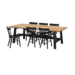 SKOGSTA/NORRARYD Mesa y 6 sillas