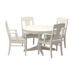 INGATORP/INGATORP Mesa con 4 sillas