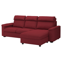 LIDHULT 3-seat sofa-bed