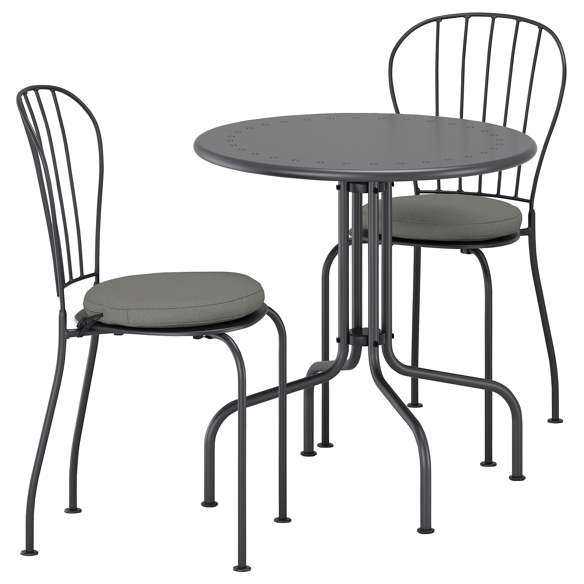 LACKO Table 2 Chairs Outdoor