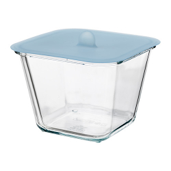 IKEA 365+ Food container with lid, 41oz