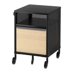 BEKANT Storage unit on castors