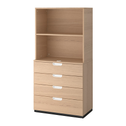 GALANT Storage combination with drawers