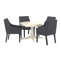 INGATORP/SAKARIAS Mesa con 4 sillas
